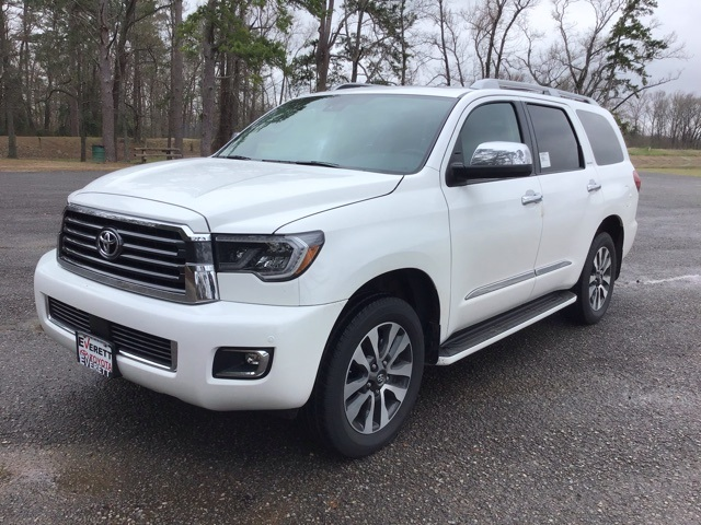 New 2019 Toyota Sequoia LTD 8-PASS 5.7L V8