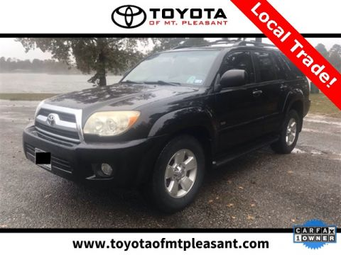 Pre Owned Cars >> 47 Used Cars Trucks Suvs In Stock Toyota Of Mt Pleasant